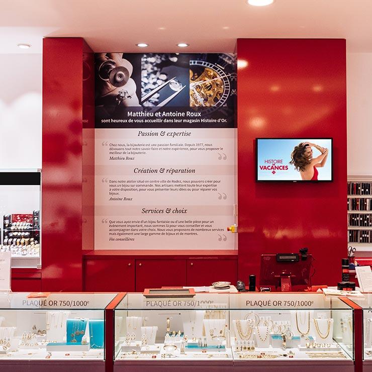 bijouterie roux histoire or vue interieur